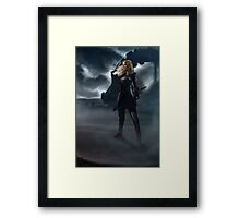 To War : Clarke Griffin Framed Print
