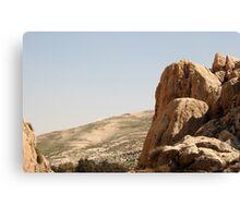"""""""EIN prat """" in judean desert. Canvas Print"""