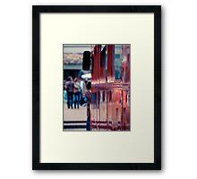 Bus... Framed Print