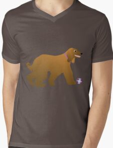 Afghan Hound Cartoon Dog T-Shirt