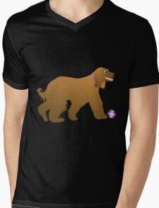 Afghan Hound Cartoon Dog T-Shirt