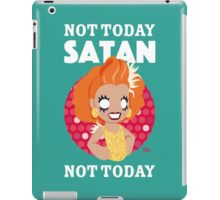 Not Today Satan, Not Today iPad Case/Skin