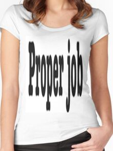 CORNISH SLANG Women's Fitted Scoop T-Shirt