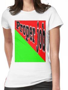 CORNISH SLANG Womens Fitted T-Shirt