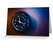 Time 3 Greeting Card