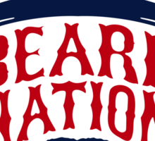 Boston Beard Nation Sticker