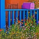 Lavendar Mail Box by Linda Gregory