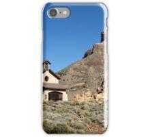 Chapel on El Teide iPhone Case/Skin