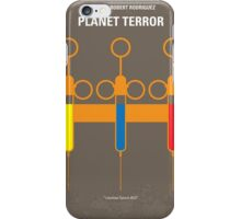 No165 My Planet Terror minimal movie poster iPhone Case/Skin