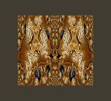 A Stunning WA2 design created in Gimp fractal trace Womens Fitted T-Shirt