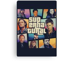 supernatural GTA Canvas Print
