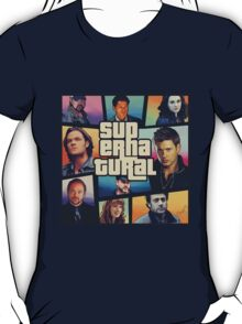 supernatural GTA T-Shirt