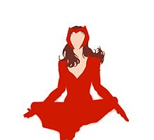 Scarlet Witch Simplistic 2.0 by Impossiblypossi