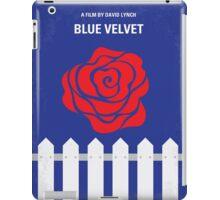 No170 My BLUE VELVET minimal movie poster iPad Case/Skin