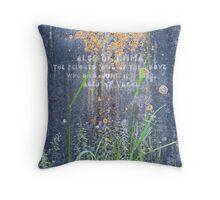 Hampton Headstone Throw Pillow