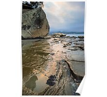 Bruny Island Low Tide Poster