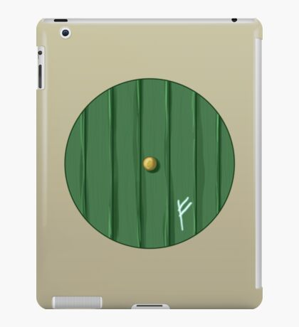 Bilbo's door iPad Case/Skin