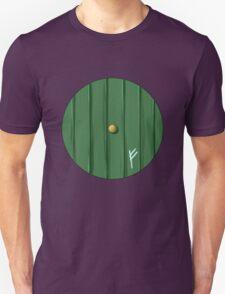 Bilbo's door Unisex T-Shirt