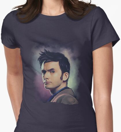 David Tennant Womens Fitted T-Shirt
