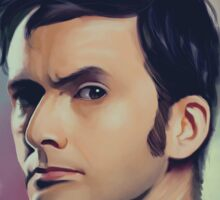 David Tennant Sticker