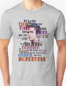 wonderful doctor Unisex T-Shirt