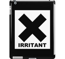 Irritant Symbol Joke Funny Geek Nerd iPad Case/Skin