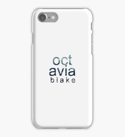 Octavia Blake iPhone Case/Skin