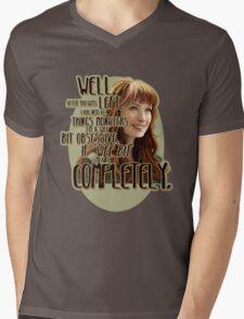 Obsessed Mens V-Neck T-Shirt
