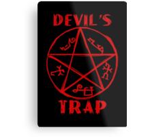 Devil's trap Metal Print