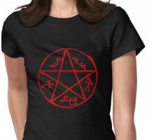 Devil's trap Womens Fitted T-Shirt