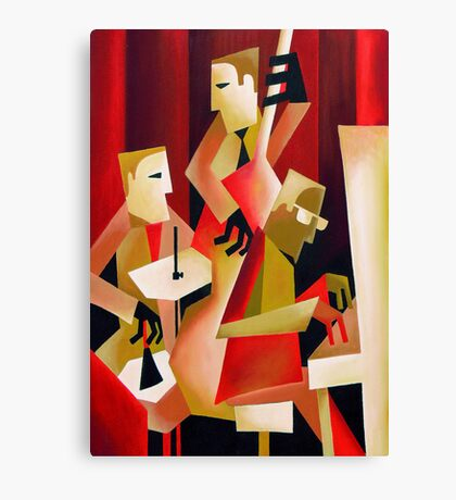 HORACE PARLAN TRIO, CHRISTIANIA, COPENHAGEN Canvas Print