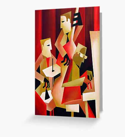 HORACE PARLAN TRIO, CHRISTIANIA, COPENHAGEN Greeting Card