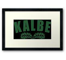 Kale U Funny Geek Nerd Framed Print