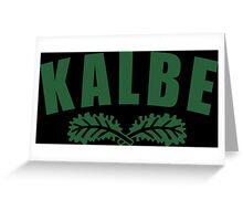Kale U Funny Geek Nerd Greeting Card