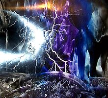 Lightning Strikes!! by Tezz