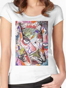 Big Eye Women's Fitted Scoop T-Shirt