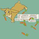 hip-hoppity-hopping (cream) by Savannah Regier