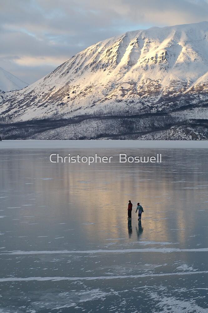 Alaska Skaters by Christopher  Boswell