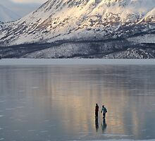 Alaska Skaters by Christopher  Boswell