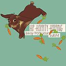 hip-hoppity-hopping (chocolate) by Savannah Regier