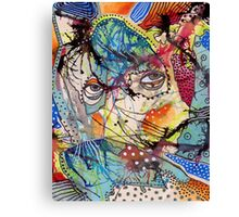 Mondays Child Canvas Print