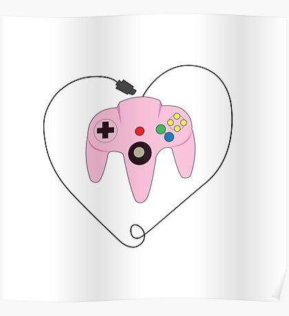 Gaming is Love Poster