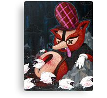 Out Foxed Canvas Print