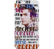 wonderful doctor iPhone Case/Skin