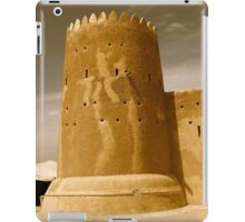 Al Zubarah Fort, Qatar iPad Case/Skin