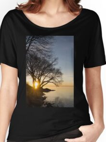 On Fire - Sunrise Through The Willows Women's Relaxed Fit T-Shirt