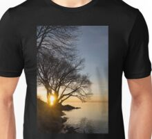 On Fire - Sunrise Through The Willows Unisex T-Shirt