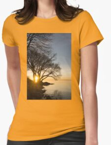 On Fire - Sunrise Through The Willows T-Shirt
