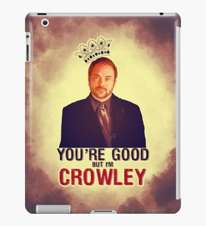 I'm Crowley! iPad Case/Skin