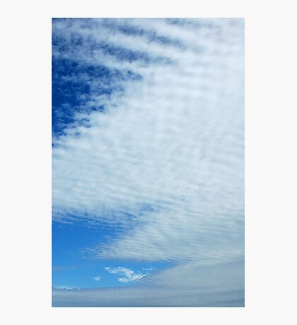 Knitted Cloud Photographic Print